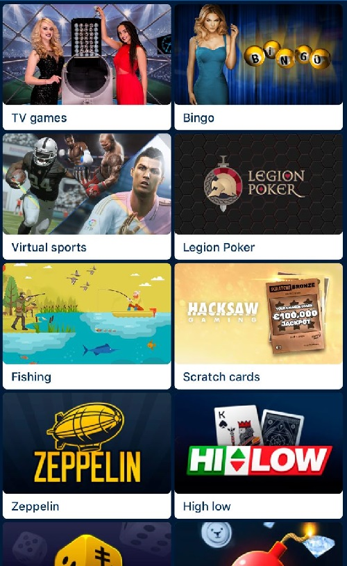 Mobile version functionality 1xbet